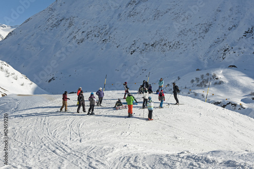 Wintersport ob Andermatt
