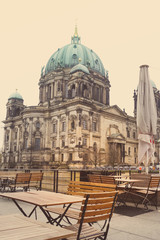 Berlin Cathedral Church. German Berliner Dom