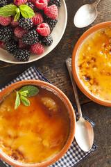 Gourmet Carmelized Creme Brulee
