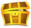 Hiding Inside Treasure Chest