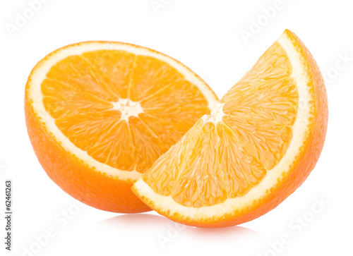 ripe orange slices