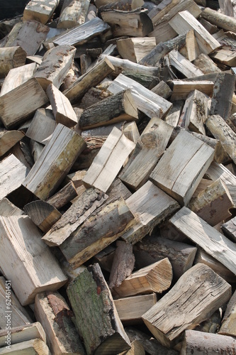 A Background Image of a Firewood Log Pile.