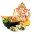 Samoussas et Ganesha