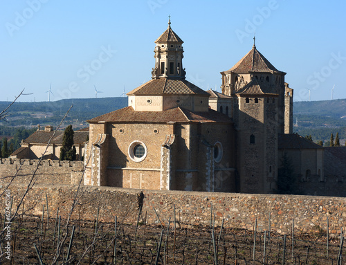 Monastery of Santa Maria de Poblet.Catalonia.Spain