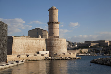 Fort Saint Jean in Marseille, France