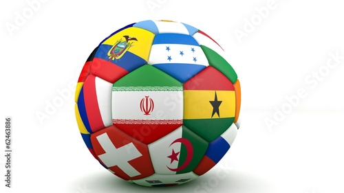 2014 brazil world cup teams ball