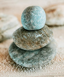 Spirituality and enlightenment with Zen stones