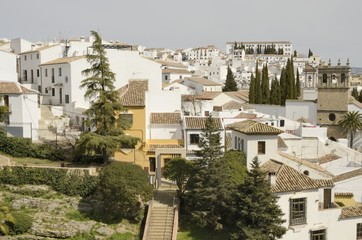 Cityscape of Ronda, Andalusia, Spain
