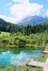 riserva naturale zelenci slovenia parco triglav