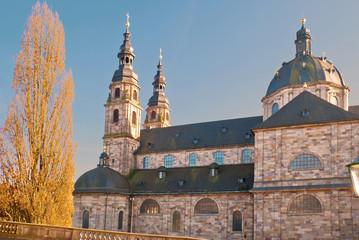 Seitenansicht des Hohen Domss zu Fulda