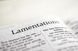 Book of Lamentations