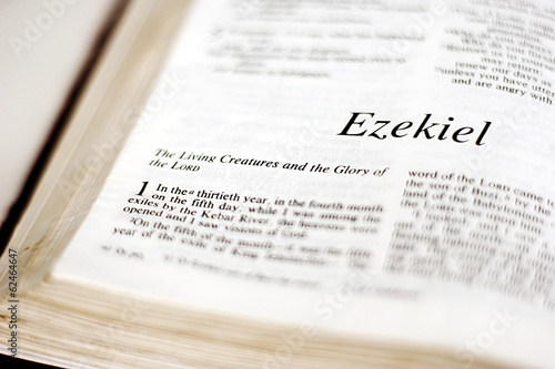 Book of Ezekiel Poster