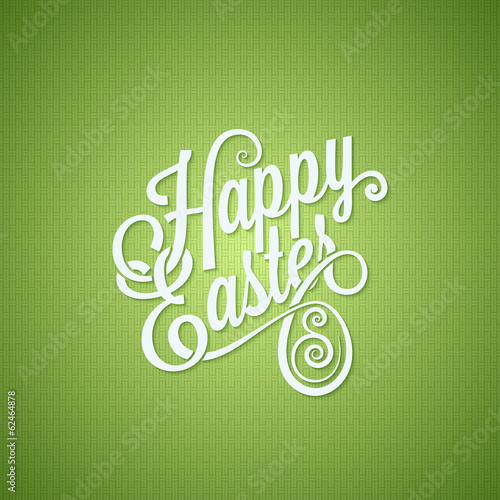 easter egg vintage lettering design background