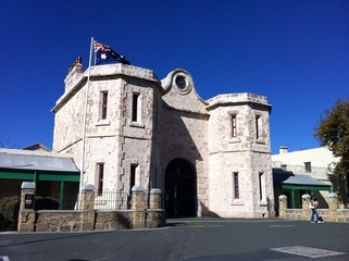 Old Fremantle prison in Perth