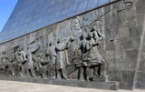 Conquerors of Space Monument, Moscow, Russia
