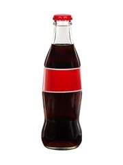Soda cola bottle