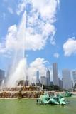 Chicago, USA - Buckingham Fountain