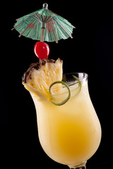Bahama Mama Cocktail - Most popular cocktails series