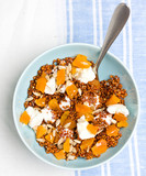 Quinoa with dried apricots