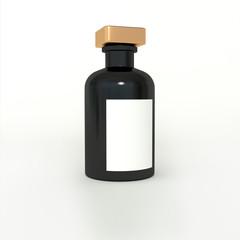 small black bottle