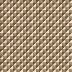 Pattern from volume goldish rhombuses