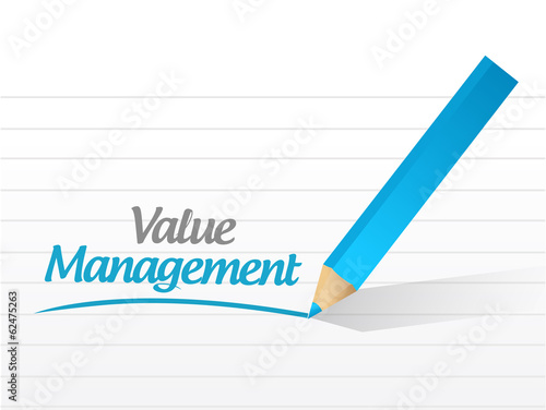 value management message illustration design