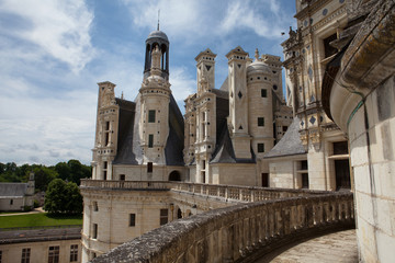 Castle of Chambord in Cher Valley, France