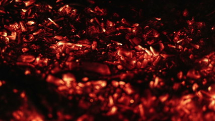 abstract background of burning coals for background use