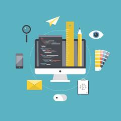 Web design and programming development