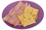Ham and Crackers