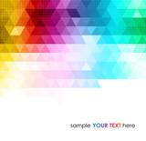 Abstract colorful geometric background - 62479442