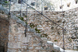 Ancient Stone Staircase in Kotor