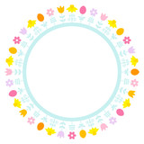 Easter Meadow Frame Pastel