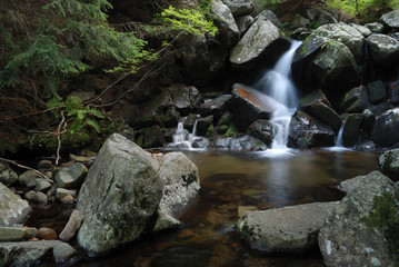 Waterfall in Vitosha mountain