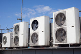 old air conditioning units outdoor