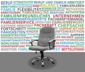 Familienfreundliches Unternehmen, Posten frei