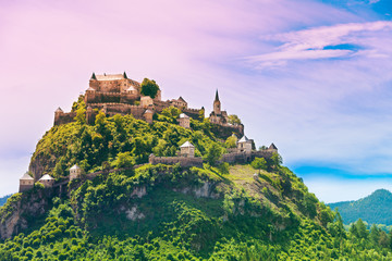 Hochosterwitz castle mountain in Austria