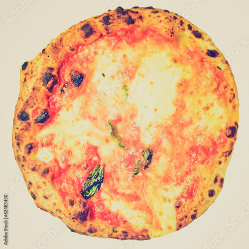 Retro look Pizza