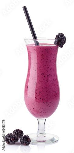 Blackberry smoothie - 62483479