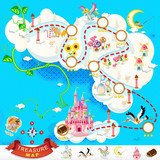 Pirate Treasure Map – Sky Castle