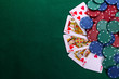 Royal flush - 62484275