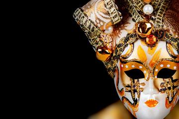 Gold Venetian mask