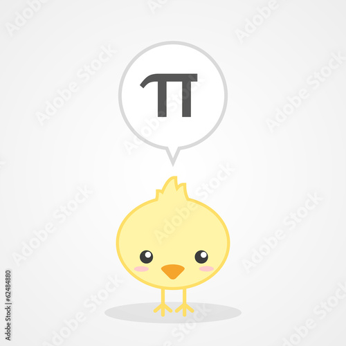 Chick and Number Pi