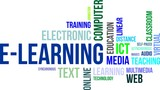word cloud - elearning