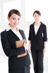 portrait of asian businesswomen