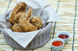 Fried Chicken in a basket
