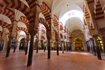 Mezquita in Cordoba, Spain