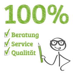 Beratung Service Qualität