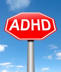 ADHD concept.