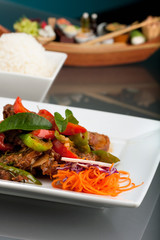 Thai Chile Basil Duck